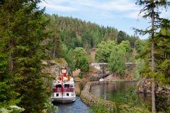 Henrik Ibsen wchodzić do Vrangfoss kędziorek przy Telemark Kanałowy Telemark Żadny obrazy royalty free