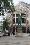 Henrik Ibsen zabytek w Oslo obraz royalty free