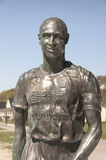 Henrik Larsson Statue Stock Photo