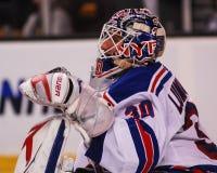 Henrik Lundqvist, goalie New York Rangers Στοκ Φωτογραφίες