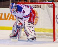 Henrik Lundqvist New York Rangers image stock