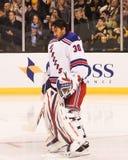 Henrik Lundqvist New York Rangers imagenes de archivo