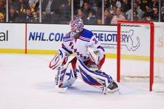 Henrik Lundqvist New York Rangers. New York Rangers goalie Henrik Lundqvist #30 royalty free stock image