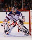 Henrik Lundqvist New York Rangers imágenes de archivo libres de regalías