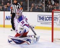 Henrik Lundqvist New York Rangers Imagem de Stock Royalty Free