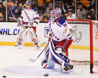 Henrik Lundqvist New York Rangers Fotografia de Stock Royalty Free