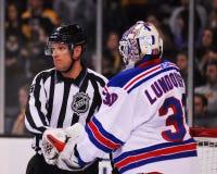 Henrik Lundqvist New York Rangers Photos libres de droits