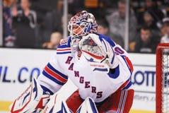 Henrik Lundqvist. New York Rangers goalie Henrik Lundqvist royalty free stock images