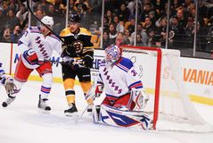 Henrik Lundqvist. New York Rangers goalie Henrik Lundqvist stock image