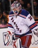 Henrik Lundqvist New York Rangers. New York Rangers goalie Henrik Lundqvist #30 stock photo