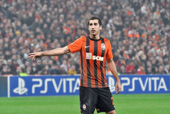 Henrik Mkhitaryan Royalty Free Stock Images