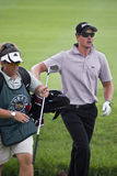 Henrik Stenson et Fanny Sunesson - NGC2009 Photo stock
