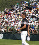 Henrik Stenson & spectators on the 18th Royalty Free Stock Images