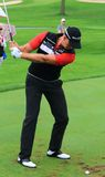Henrik Stenson taking a Shot Royalty Free Stock Images