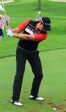Henrik Stenson taking a Shot. Pro golfer Henrik Stenson hits a drive on the on the PGA pro tour Royalty Free Stock Images