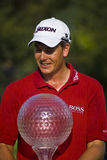 Henrik Stenson with Trophy - NGC2008 Stock Photography