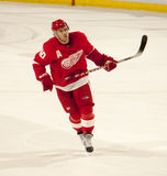Henrik Zetterberg Awaits The Shootout Stock Images