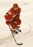 Henrik Zetterberg Skates In During Shootout Royalty Free Stock Image