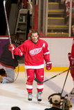 Henrik Zetterberg Takes The Ice Imagem de Stock