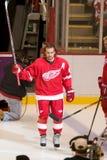 Henrik Zetterberg Takes The Ice Stock Image
