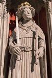 Henry Β άγαλμα στο μοναστηριακό ναό της Υόρκης Στοκ Εικόνα