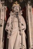 Henry ΙΙΙ άγαλμα στο μοναστηριακό ναό της Υόρκης Στοκ φωτογραφίες με δικαίωμα ελεύθερης χρήσης