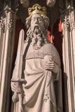Henry ΙΙ άγαλμα στο μοναστηριακό ναό της Υόρκης Στοκ Φωτογραφία