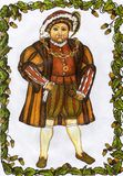 Henry 8ème Image libre de droits