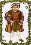 Henry 8vo Imagen de archivo libre de regalías
