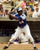 Henry Aaron Atlanta Braves Arkivbild