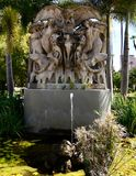 Henry Bradley rośliny pomnika fontanna fotografia stock