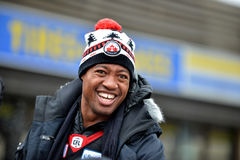Henry Burris in Grey Cup parade Royalty Free Stock Photos