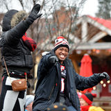 Henry Burris in Grey Cup Parade Stock Image