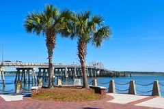 Free Henry C. Chambers Memorial Park, Beaufort, SC Stock Images - 115555234