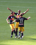 Henry celebrated in Emirates Cup '11 stock image