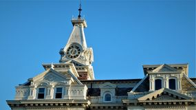 Henry County Courthouse lizenzfreie stockfotos