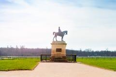 Henry d ` Orleans zabytek, Chantilly, Francja Obrazy Stock