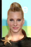 """Henry Fonda,Heather Morris. LOS ANGELES - JUL 27:  Heather Morris arrives at Fox's """"Glee"""" Academy: An Evening of Music With the Cast of Glee at The Music Box & Royalty Free Stock Images"""