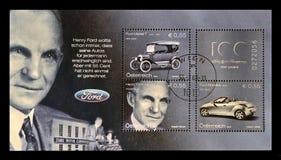 Henry Ford, Amerikaanse grootindustrieel, bedrijfsmagnaat, stichter van Ford Motor Company, circa 2003, royalty-vrije stock afbeeldingen