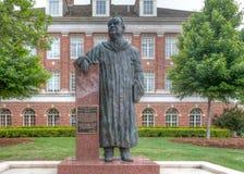 Henry G Bennett Statue all'università di Stato di Oklahoma Fotografia Stock