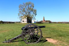 Henry Hill Manassas Battlefield Virginia Fotografia Stock
