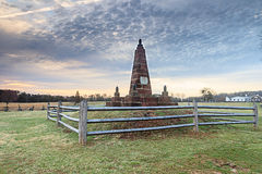 Henry Hill Monument Manassas National Battlefield Royalty Free Stock Images