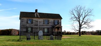 Henry House a Buck Hill Manassas National Battlefield Fotografie Stock