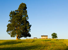 Henry House at Manassas Battlefield Stock Photography