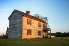 Henry House in Manassas stock photos