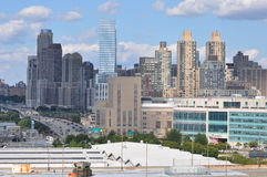 Henry Hudson Highway (West Side) in Manhattan Royalty Free Stock Photos