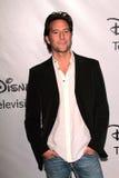 Henry Ian Cusick en el ABC de Disney   Foto de archivo libre de regalías