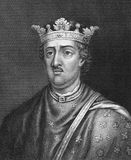 Henry II. Of England (1133-1189) on engraving from 1830. King of England during 1154-1189. Published in London by Thomas Kelly Stock Images