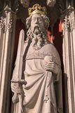 Henry II Statue in York Minster Stock Photography