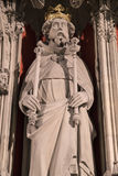 Henry III Statue in York Minster Royalty Free Stock Photos